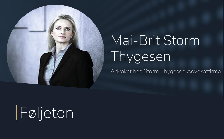 Føljeton med Mai-Brit Storm Thygesen
